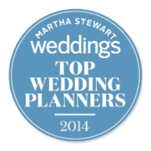 seal of approval from Martha Stewart for Top Wedding Planners