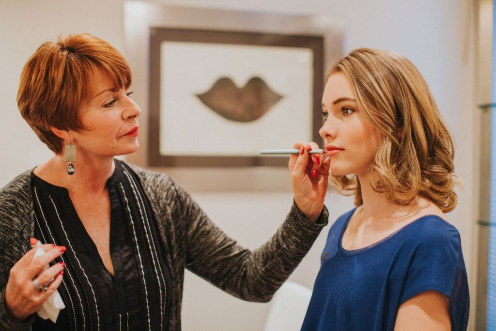 Louisville professional makeup artist, Teresa Lanz